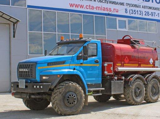Фото: АТЗ-10 на шасси Урал Next