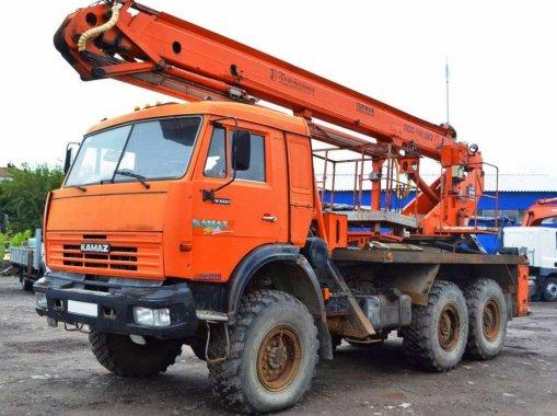 Фото: Буровая установка КАМАЗ-43114 УРБ-2А-2Д
