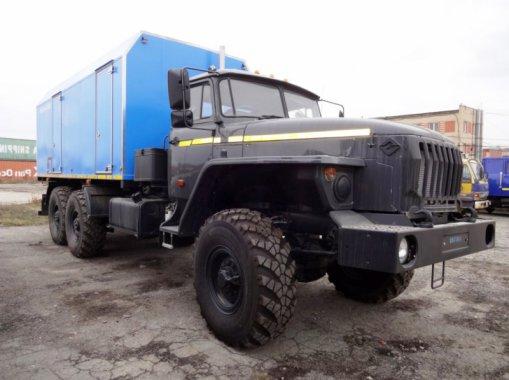 ППУ 1600/100 на шасси Урал 5557-60Е5