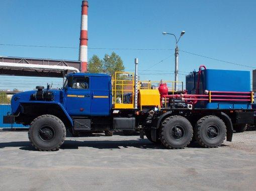 Цементировочный агрегат СИН-35 на шасси Урал 4320-60