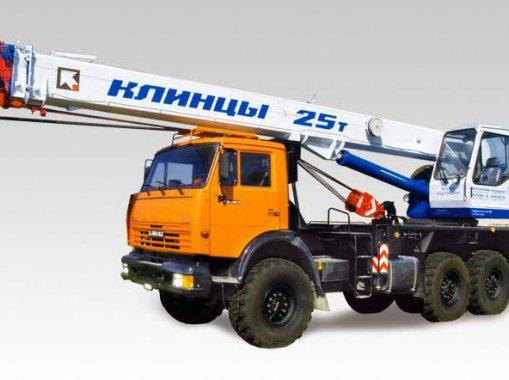 Автокран Клинцы КС-55713-5К-2 на базе шасси КамАЗ-43118
