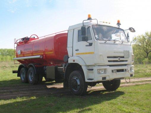 АЦ-15 на шасси КАМАЗ 65111