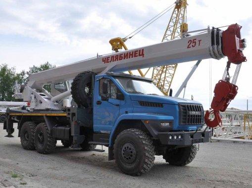 Автокран КС 55732-21 Челябинец Урал NEXT 4320-72Е5