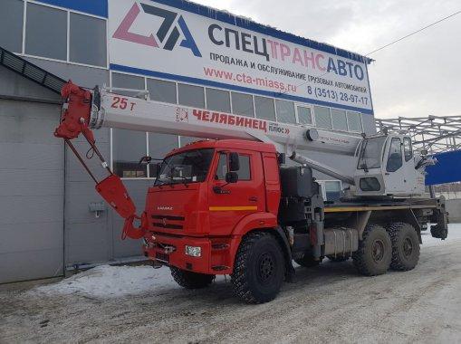 Фото: Автокран КС-55732-21 Челябинец КАМАЗ-43118