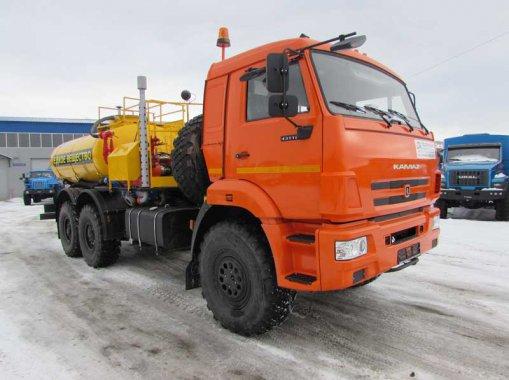 Агрегат для кислотной обработки скважин СИН-32 на шасси КамАЗ 43118