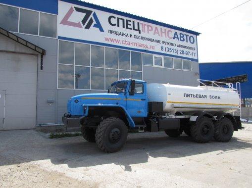 Фото: АЦПТ-10 Урал 4320-60Е5