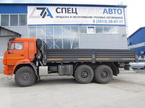 Автомобиль бортовой контейнеровоз КАМАЗ 43118-50