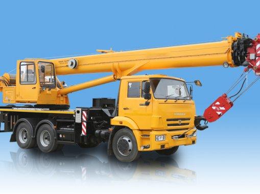 Автокран КС-55729-5В-3 Галичанин на шасси КАМАЗ-43118-50