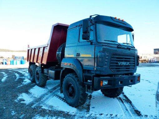 Фото: Самосвал Урал 55571-80Е5