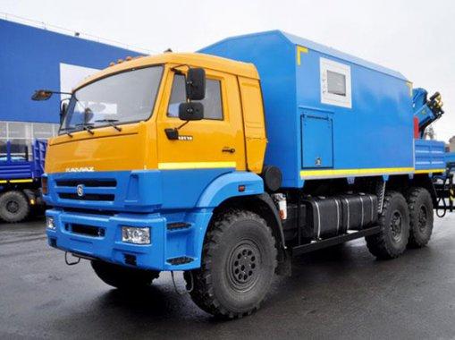 ТБМ Камаз 43118 с КМУ ИМ-20