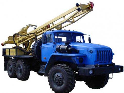 Буровая установка Урал-4320 Урал УРБ-2Д3