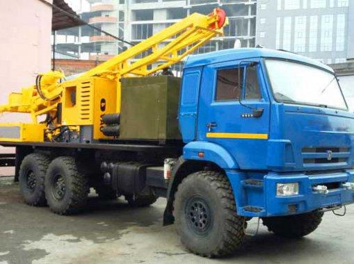 Фото: Буровая установка КАМАЗ-43114 УРБ 2Д3