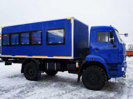 Фото: Вахтовый автобус Камаз 43502-66(D5) (22 места)