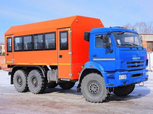 Фото: Вахтовый автобус Камаз 43118-50 (22 места)