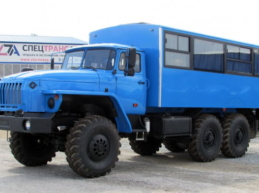 Фото: Вахтовый Автобус Урал 32551-0013-61Е5 20+1 место