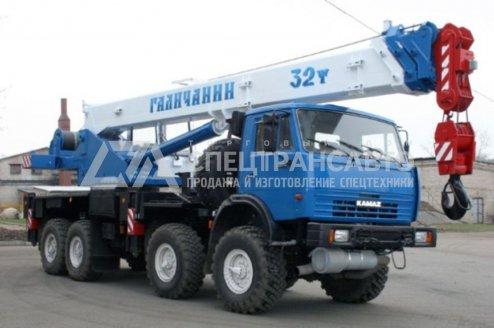 Фото: Автокран КС-55729-5В Галичанин КамАЗ-63501-51
