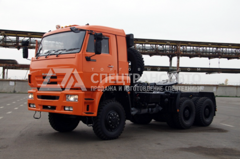 Фото: Седельный тягач КАМАЗ 65225-RG КПП ZF