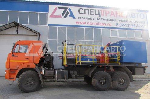 Фото: Агрегат цементировочный на шасси КамАЗ 43118-50