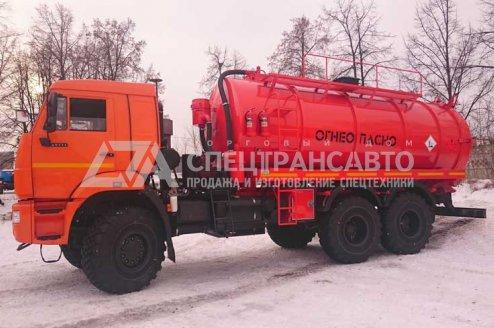 Вакуумная автоцистерна АКН-16 КАМАЗ 65111