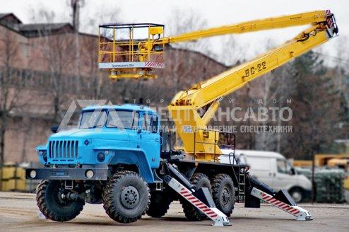 Фото: Автогидроподъемник АГП ВС-22 Урал 4320-1112-61Е5