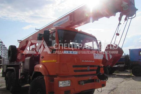 Фото: Автокран  КС 55713-5К-1 Клинцы на шасси КАМАЗ 43118