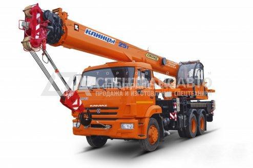 Автокран КС-55713-1К-4 Клинцы Камаз-65115