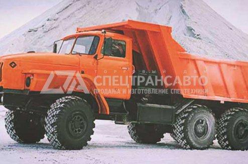 Фото: Самосвал Шламовоз Урал 55571-60Е5