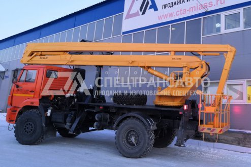 Автогидроподъемник ВС-22.06 КАМАЗ 43502-3036-66(D5)