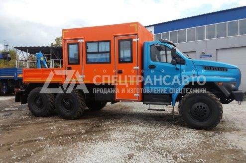 Фото: Грузопассажирский автомобиль ГПА на шасси Урал Next 4320-72Е5Г38