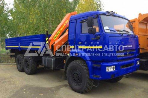 Бортовой автомобиль с КМУ ИМ-150N Камаз 43118
