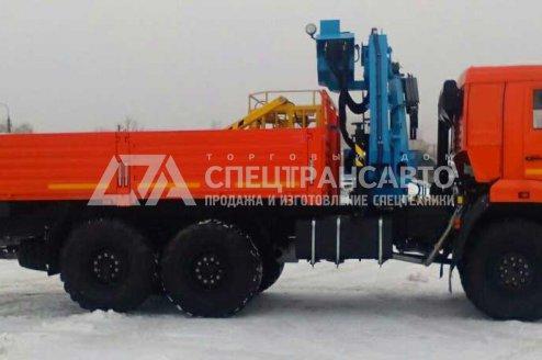 Фото: Бортовой автомобиль с КМУ ИМ-95 КАМАЗ 43118-50