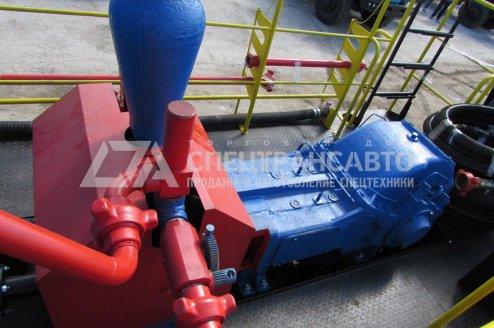 Фото: Агрегат цементировочный СИН-32 на шасси Урал 4320