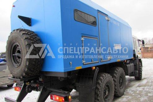 ППУ 1600/100 на шасси КАМАЗ 43118-46