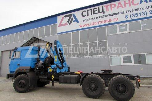 Седельный тягач Урал 44202-3511-82М с КМУ ИНМАН-150