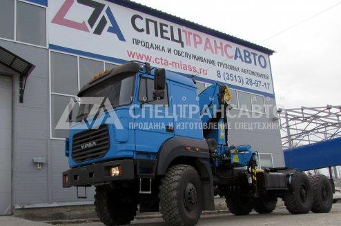 Фото: Седельный тягач Урал 44202-3511-82Е5 с КМУ ИНМАН-150
