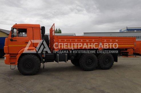 Фото: Бортовой автомобиль КАМАЗ 43118-50