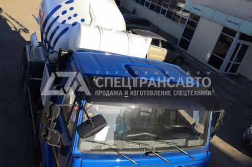 Фото: Автобетоносмеситель КАМАЗ-65115