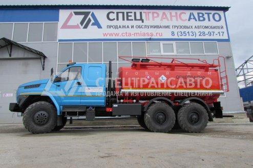АТЗ-10 на шасси Урал Next со спальником