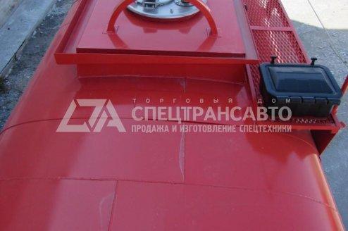 Прицеп-цистерна ПЦ-10 с узлом выдачи топлива