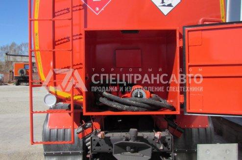 Фото: АТЗ-17 на шасси КамАЗ 65115
