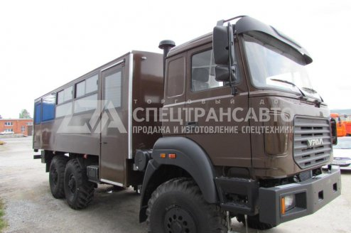Фото: Вахтовый автобус Урал 3255-3013-79Е5