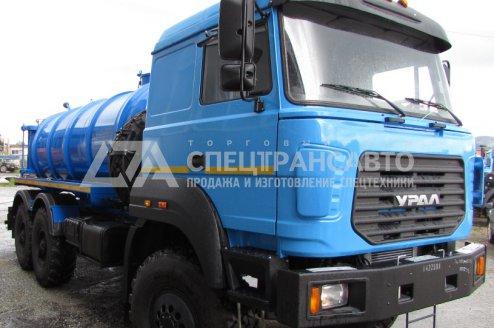 Фото: МВ-10 на шасси Урал 4320-4972-80Е5