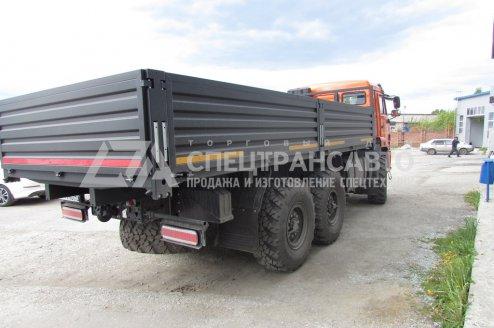 Фото: Автомобиль бортовой контейнеровоз КАМАЗ 43118-50