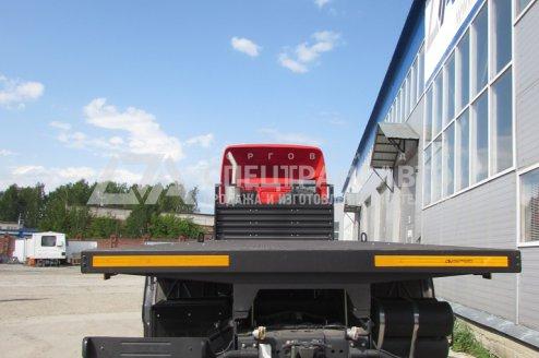 Фото: Автомобиль контейнеровоз КАМАЗ 6560-53