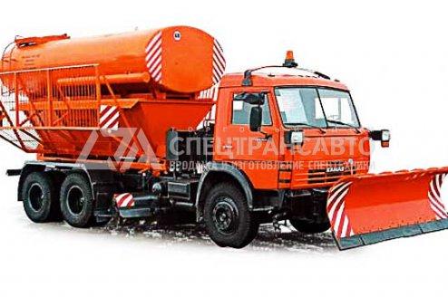 Фото: Машина комбинированная ЭД-405 КАМАЗ-53215