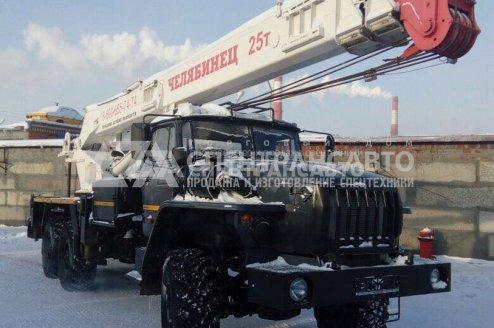 Автокран Челябинец 45721 на шасси Урал 4320-72