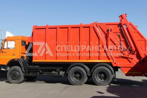 Мусоровоз Камаз 65115-1041