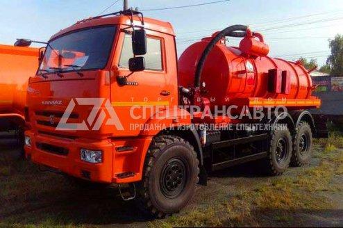 Фото: Вакуумная машина МВ-12 КАМАЗ-65115