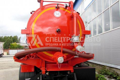 Фото: Вакуумная илососная машина МВС-12 КАМАЗ-65115-50