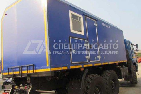 ППУ 500/06 на шасси КАМАЗ 43118-46